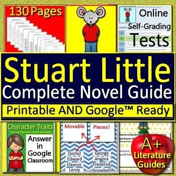 Stuart Little Unit Novel Study