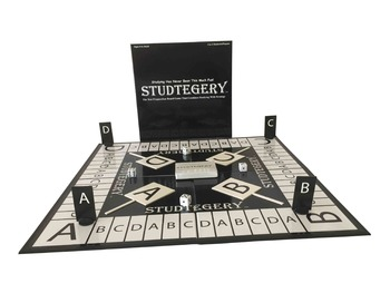 STUDTEGERY - Test Preparation and Review Board Game