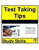 TEST TAKING TIPS- STUDY SKILLS / LEARNING STRATEGIES