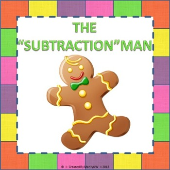 """""""SUBTRACTION"""" MAN - Subtraction with Regrouping Game"""