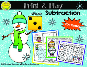 SUBTRACTION { Print & Play } Winter Edition