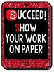 SUCCEED! Test-Taking Strategies Posters and Flippable