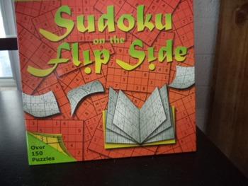 SUDOKU ON THE FLIP SIDE  ISBN 10 1 4027 3711 4