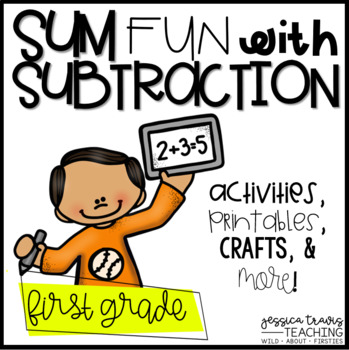 SUM fun with SUBTRACTION {Activities,Crafts, & More!}