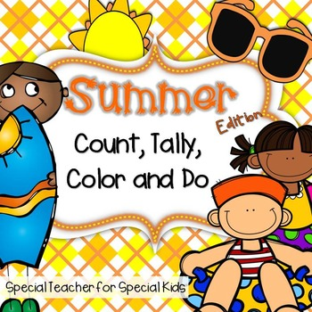 SUMMER  Color, Count, Tally and Do- Instant and Interactive Math