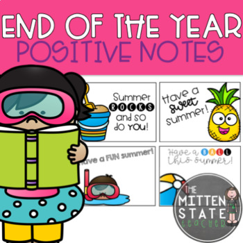Positive Notes {End of the Year}