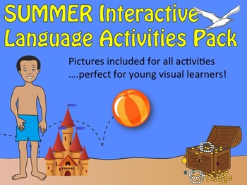 SUMMER Interactive Language Activities Pack: for SE, ESL &