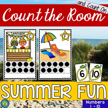 SUMMER Math Center: Count the Room 1 - 10