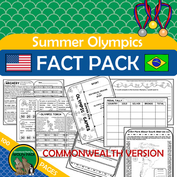 SUMMER OLYMPIC GAMES FACT PACK {COMMONWEALTH VERSION}