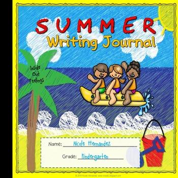 Summer Activities {Journal Writing}