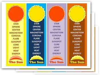 SUN Bookmarks ( 5 sheets )