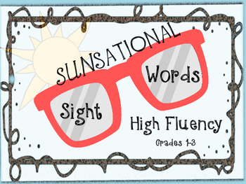 SUNsational Sight Words