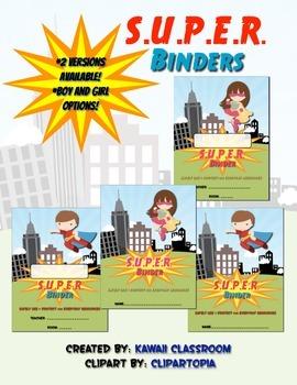 S.U.P.E.R. Binder Cover