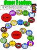 Back to School SUPER Readers Rhyming Board Game