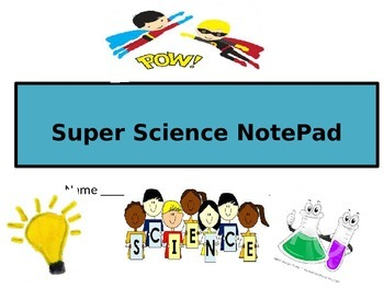 SUPER SCIENCE NOTEBOOK!