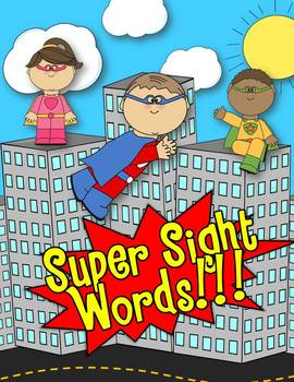 SUPER SIGHT WORDS Games, Activities & Center Fun!!! (DOLCH