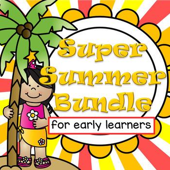 SUMMER Activities BUNDLE for Preschool and Pre-K