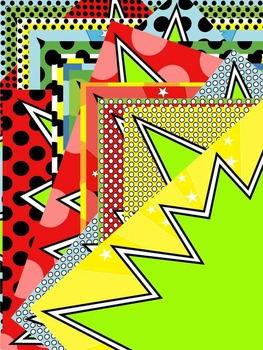 SUPERHERO CERTIFICATES * GREEN BACKGROUNDS