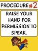 SUPERHERO Classroom Procedures Posters