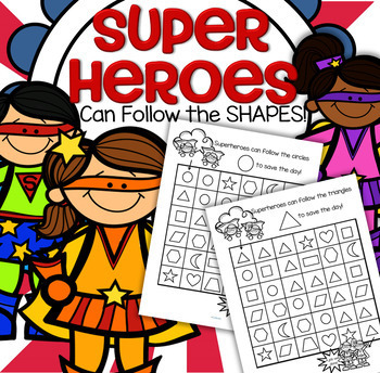 SUPERHEROES Shapes Recognition