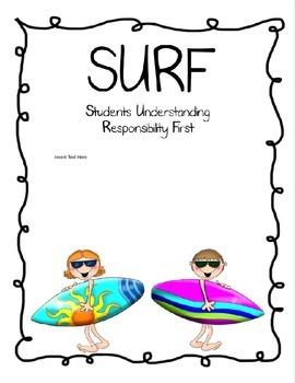 SURF Binder Cover Set #2