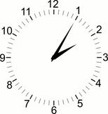 SVG Adjustable Clock