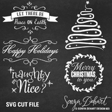 SVG Cuts and Christmas Clip Art Classroom Decor Silhouette