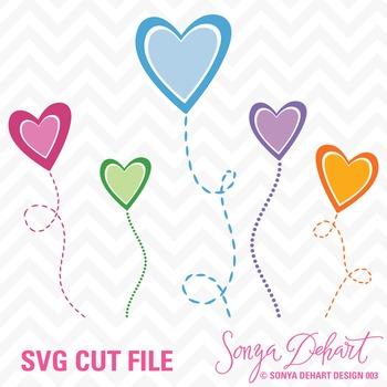SVG Cuts and Clip Art Hearts Classroom Decor Silhouette Cr