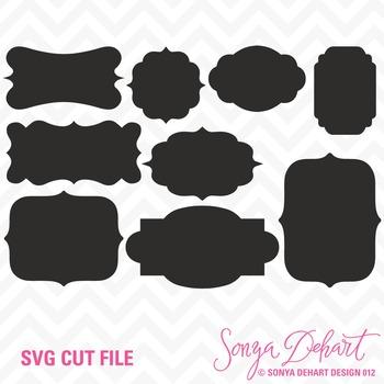 SVG Cuts and Clip Art Labels Classroom Decor Silhouette Cr
