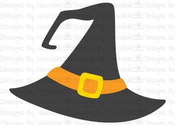 SVG, DXF, Pdf, Studio3 Cut file CF50 Halloween Hat