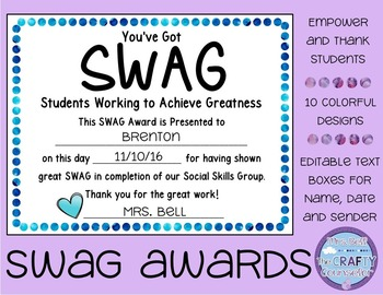 SWAG Awards (Students Who Achieve Greatness)