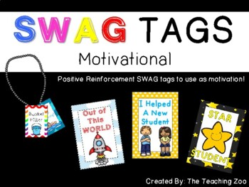 SWAG! Brag Tags {Motivational}