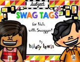 SWAG TAGS - Subjects in School Pack