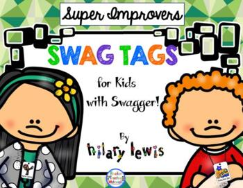 SWAG TAGS [Brag Tags] Super Improvers Pack