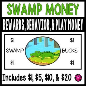FLORIDA GATOR THEME SWAMP DOLLARS for CLASSROOM BEHAVIOR a