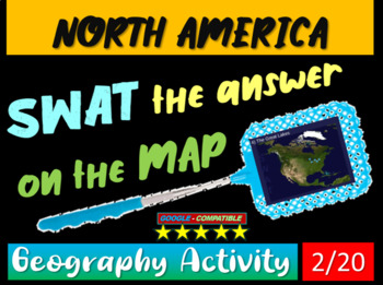 SWAT GEOGRAPHY REVIEW GAME 2 - North American Geography (2
