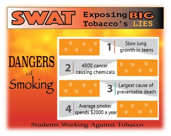 SWAT Smoking Graphic