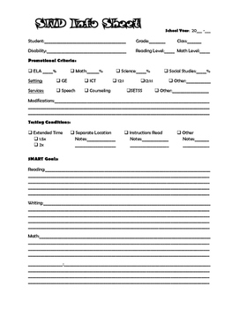 SWD Info Sheet
