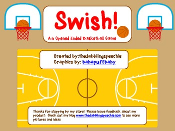 Swish! An Open-Ended Basketball Game