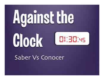 Saber Vs Conocer Against the Clock