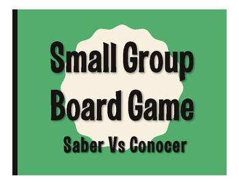 Saber Vs Conocer Board Game