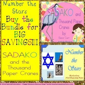 Sadako & the Thousand Paper Cranes  & Number the Stars Bun