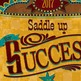 Saddle UP! 2017 Yearbook Cover Design