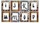 Safari-Animal Print Word Wall Letters