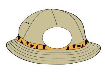 Safari Hat printable