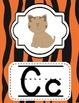 Safari/ Jungle Theme Animal Print Alphabet Posters