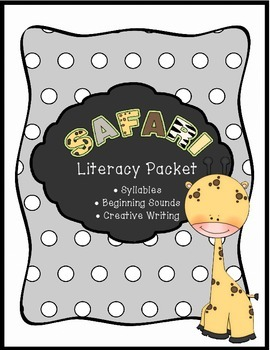 Safari Literacy Packet