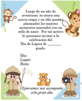 Safari Monkeys Invitation Editable!!!!