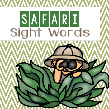 Safari Sight Words