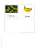 Fruits and vegetable cards